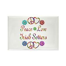 Irish Setters Rectangle Magnet (100 pack)