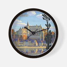 Château d'Amboise Wall Clock