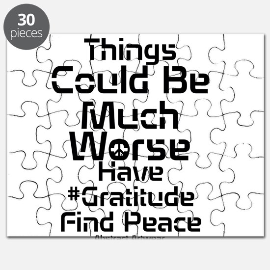 Find Peace in Gratitude Puzzle