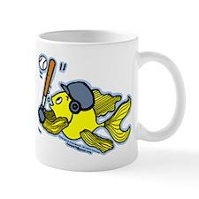 Fish Playing Baseball, Baseball Fish Mug