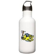 Fish Playing Baseball, Baseball Fish Water Bottle
