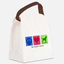 Peace Love Labs Canvas Lunch Bag