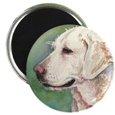 """Yellow Lab 2.25"""" Magnet (100 pack)"""