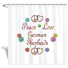 German Shepherds Shower Curtain