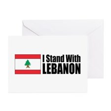 Stand With Lebanon Greeting Cards (Pk of 10)
