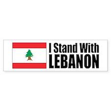 Stand With Lebanon Bumper Bumper Sticker
