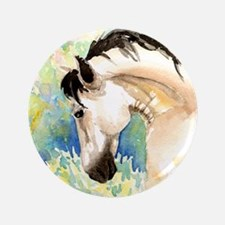 """Spring Horse 3.5"""" Button (100 pack)"""