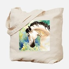 Spring Horse Tote Bag