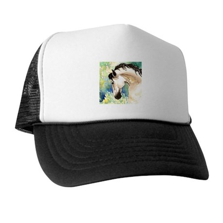 Spring Horse Trucker Hat