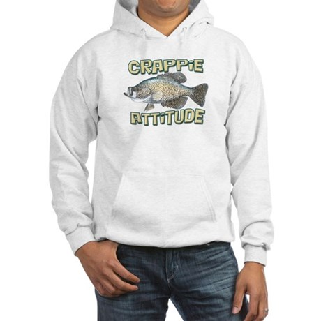 Crappie Attitude Hooded Sweatshirt