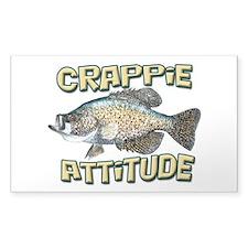 Crappie Attitude Decal