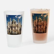 Vienna St Charles Church Drinking Glass