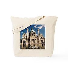Vienna St Charles Church Tote Bag