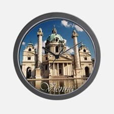 Vienna St Charles Church Wall Clock