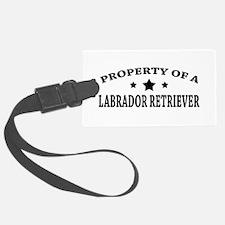 Property of Lab Luggage Tag