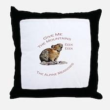 Pika...Eeek, Eeek Throw Pillow
