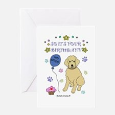 happy birthday from goldendoodle-more dogs Greetin