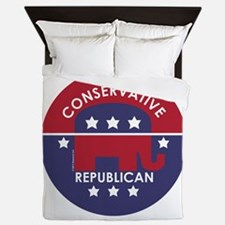 Conservative Republican Queen Duvet