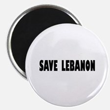 Save Lebanon Magnet