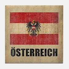Vintage Austria Tile Coaster