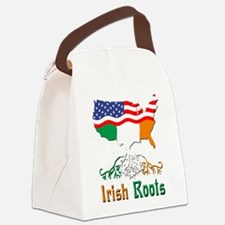 American Irish Roots Canvas Lunch Bag