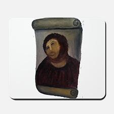 Ecce 'Monkey Jesus' Homo Mousepad