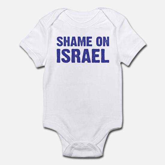 Shame on Israel Infant Creeper