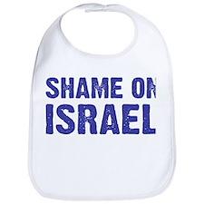 Shame on Israel Bib