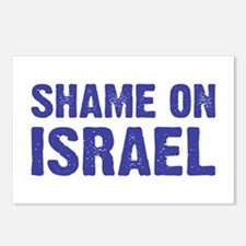 Shame on Israel Postcards (Package of 8)