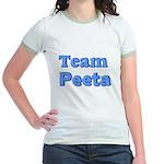 August 23 2012 Team Peeta.png Jr. Ringer T-Shirt