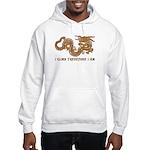 I Climb Zen Dragon Hooded Sweatshirt
