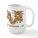 I Climb Zen Dragon Large Mug