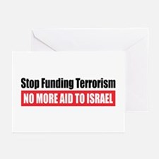 Stop Funding Greeting Cards (Pk of 10)