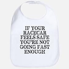 Funny Racing Saying Bib