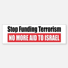 Stop Funding Bumper Bumper Stickers