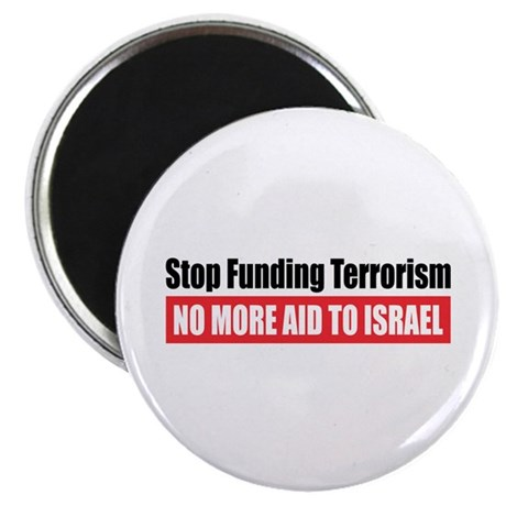 "Stop Funding 2.25"" Magnet (100 pack)"