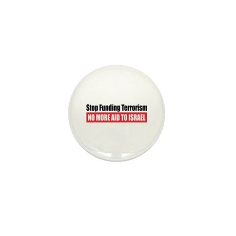 Stop Funding Mini Button (10 pack)