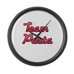 August 23 2012 Team Peeta 2.png Large Wall Clock
