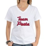 August 23 2012 Team Peeta 2.png Women's V-Neck T-S