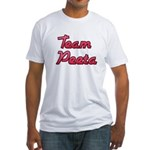August 23 2012 Team Peeta 2.png Fitted T-Shirt