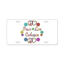 Cockapoo Aluminum License Plate