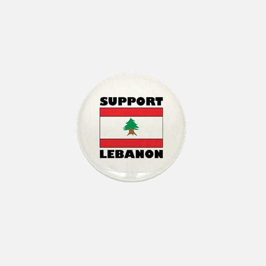 Support Lebanon Mini Button
