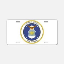 USAF Coat of Arms Aluminum License Plate