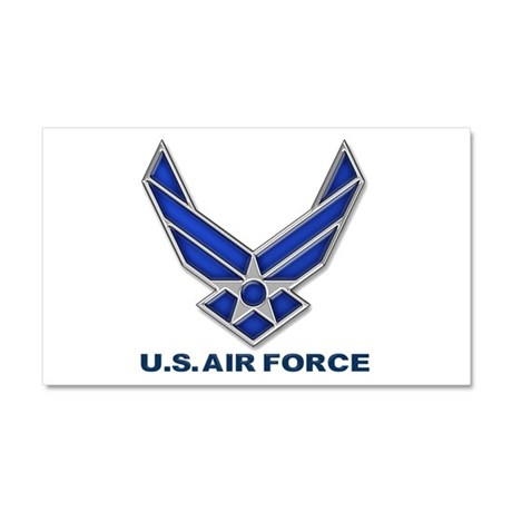 USAF 3 Diamond Symbol Car Magnet 20 x 12