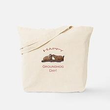 Groundhog Day Kiss Tote Bag