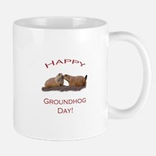 Groundhog Day Kiss Mug