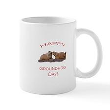 Groundhog Day Kiss Small Mug