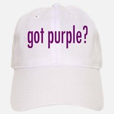 got purple? Baseball Baseball Cap
