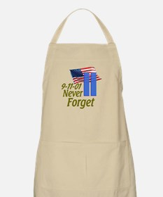 Never Forget 9-11 - With Buildings Apron