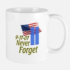 Never Forget 9-11 - With Buildings Mug